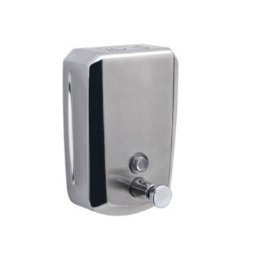 GEDY 2082 DOSATORI WALL MOUNTED STAINLESS STEEL 1200 ML SOAP DISPENSER