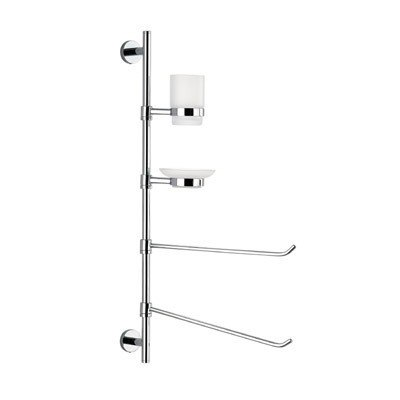 GEDY 2635-13 ASTRO WALL MOUNTED THREE-FUNCTION CHROME BUTLER