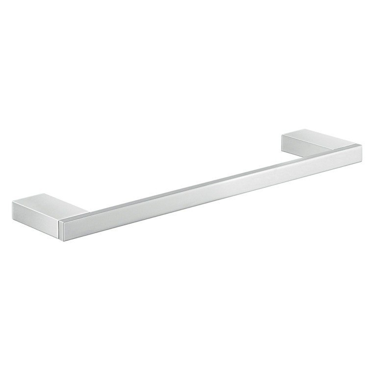 GEDY A321-30-13 LANZAROTE WALL MOUNTED 13 INCH CHROME TOWEL BAR