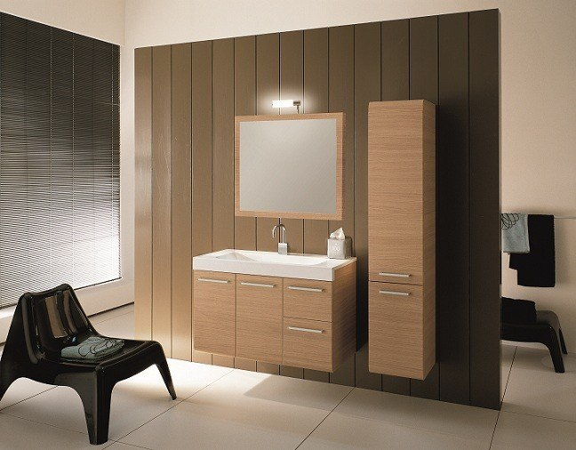 IOTTI LE2 LINEAR COLLECTION 38.3 INCH VANITY SET