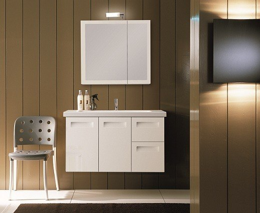 IOTTI NG3 INTEGRAL COLLECTION 38.3 INCH VANITY SET WITH MEDICINE CABINET