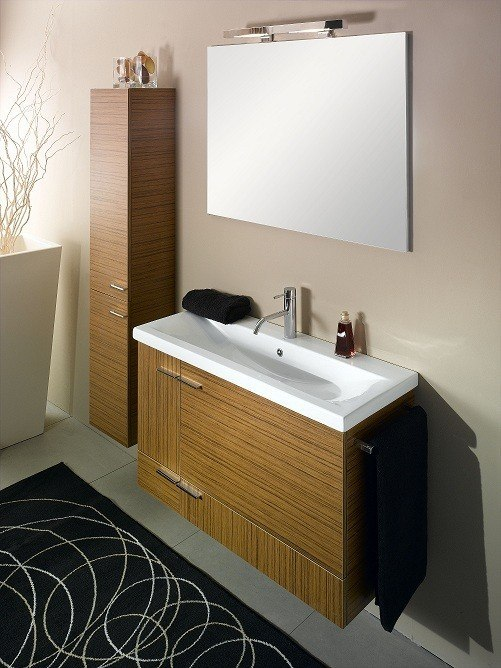 IOTTI NS1 SIMPLE COLLECTION 38.3 INCH WALL MOUNTED VANITY SET