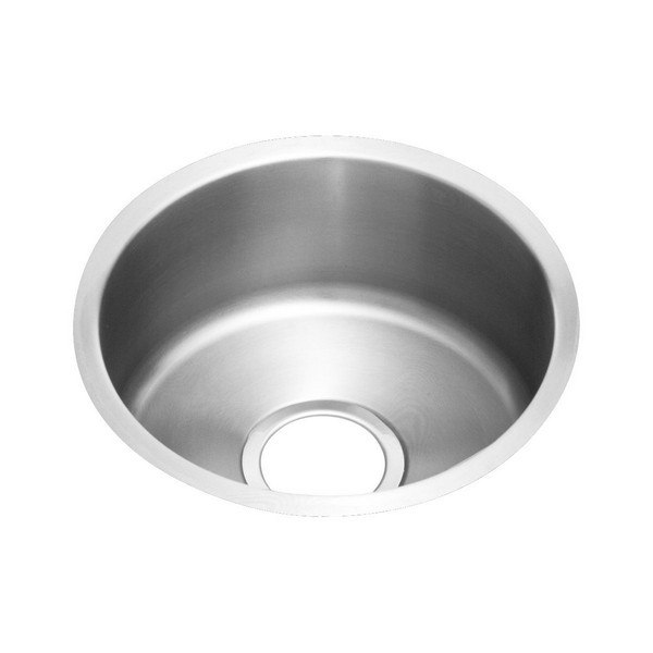 ELKAY ELUH12FB LUSTERTONE 14-3/8 L X 14-3/8 W X 6 D UNDERMOUNT KITCHEN SINK