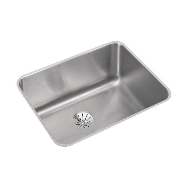 ELKAY ELUH211510PD STAINLESS STEEL 23-1/2 L X 18-1/4 W X 10 D UNDERMOUNT KITCHEN SINK WITH PERFECT DRAIN