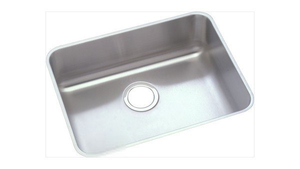 Elkay ELUHAD191655 Stainless Steel 21-1/2 L x 18-1/2 W x 5-3/8 D Undermount Kitchen Sink