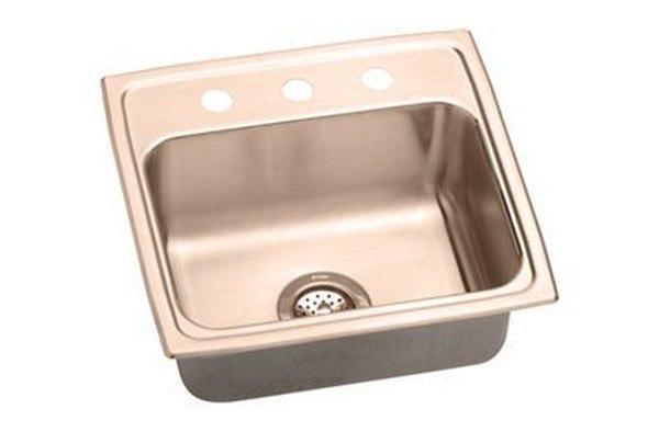 Elkay LRAD1918501-CU Sink Lustrous Highlighted Satin