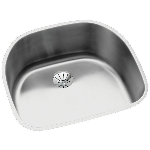 ELKAY ELUH211810PD STAINLESS STEEL 23-5/8 L X 21-1/4 W X 10 D UNDERMOUNT KITCHEN SINK WITH PERFECT DRAIN