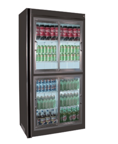 Universal Coolers RW 38 38 Inch Remote Sliding Glass Door Refrigerator/ Cooler