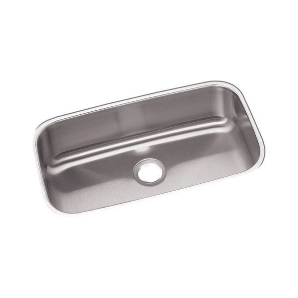 ELKAY DXUH2816 DAYTON STAINLESS STEEL 30-1/2 L X 18-1/4 W X 8 D UNDERMOUNT KITCHEN SINK