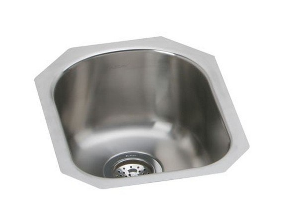 ELKAY EGUH1317DBG 14 L X 17-1/2 W X 8 D UNDERMOUNT KITCHEN SINK WITH DRAIN AND BOTTOM GRID