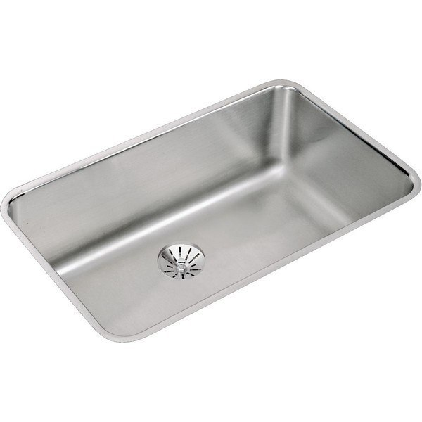 ELKAY ELUH281610PD STAINLESS STEEL 30-1/2 L X 18-1/2 W X 10 D UNDERMOUNT KITCHEN SINK WITH PERFECT DRAIN