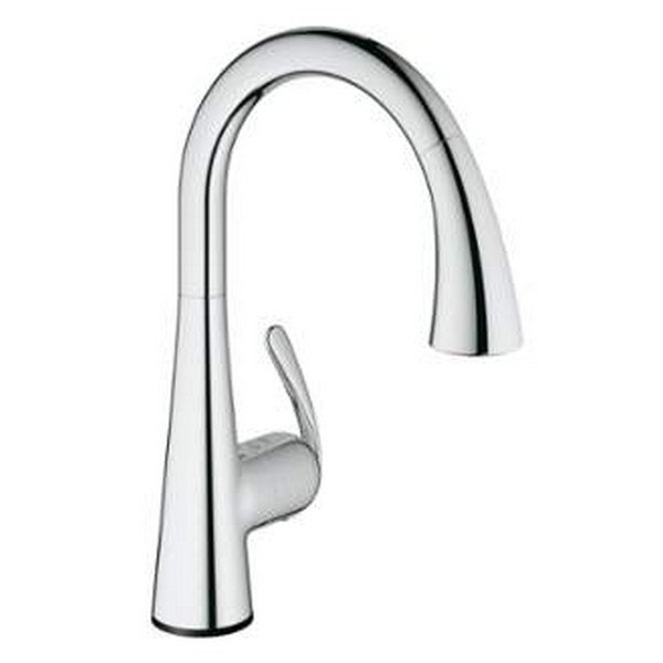 Grohe 30205 Ladylux Touch Touch Single Hole Kitchen Faucet