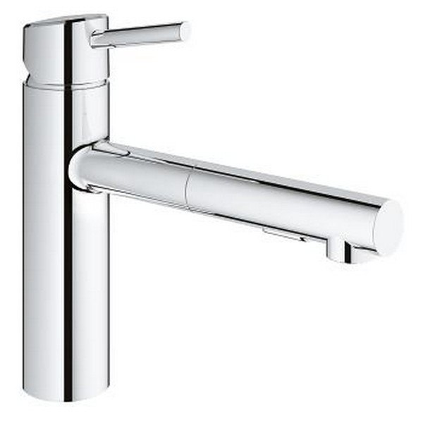 Grohe 31453 Concetto Single Hole Kitchen Faucet