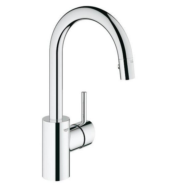 Grohe 31479 Concetto Single Hole Kitchen Faucet
