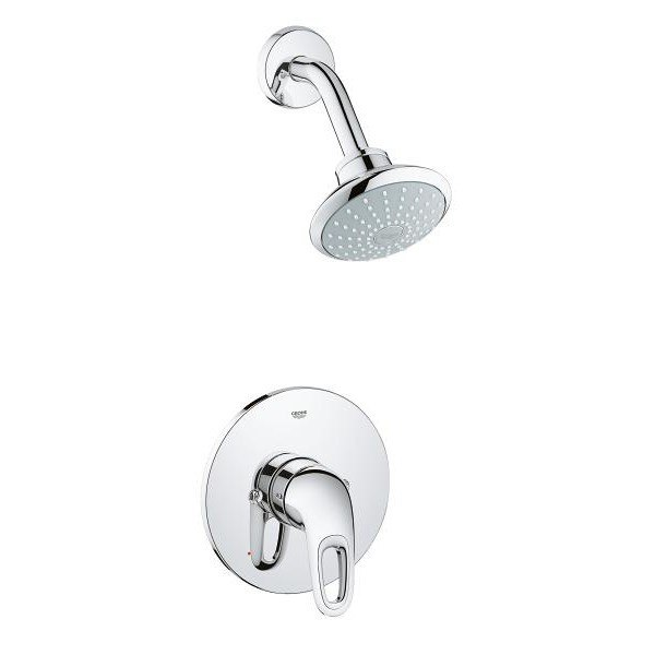 GROHE 35060 EUROSTYLE PRESSURE BALANCE VALVE BATHTUB/SHOWER COMBO FAUCET