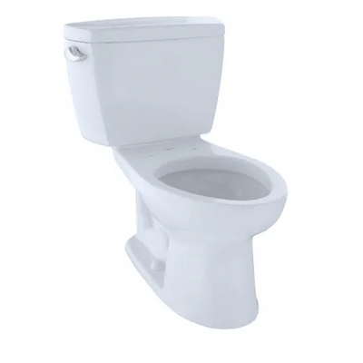 TOTO CST744E ECO DRAKE TWO PIECE ELONGATED 1.28 GPF TOILET WITH E-MAX FLUSH SYSTEM