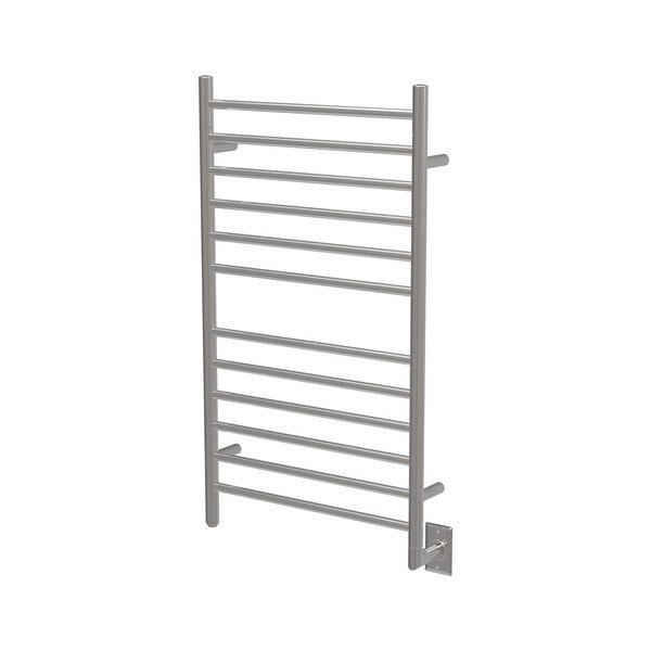 AMBA RWHL-S RADIANT 41 H X 23 W INCH LARGE HARDWIRED TOWEL WARMER WITH STRAIGHT BARS