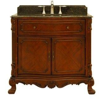 Sagehill Designs BR3621 Covington Barrister 36 Inch Bathroom Vanity Cabinet