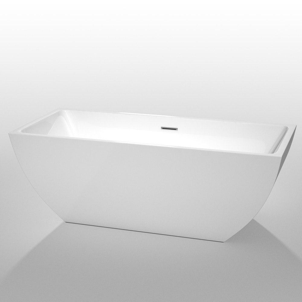 Wyndham Collection WCBTK150567 Rachel 67 Inch Soaking Bathtub