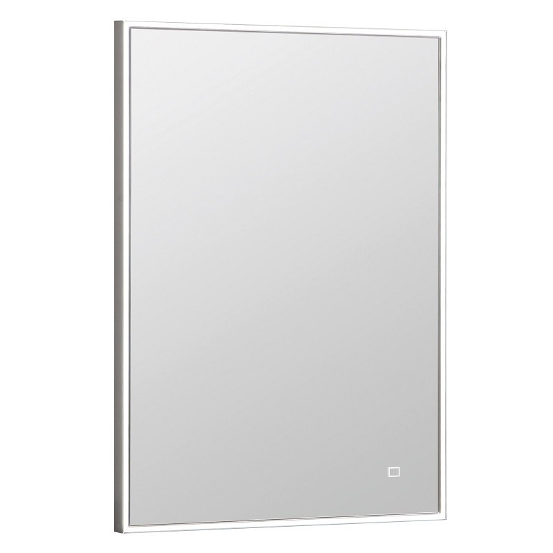 Ronbow 602523 Bn Contemporary 22 X 30, Brushed Nickel Framed Vanity Mirror