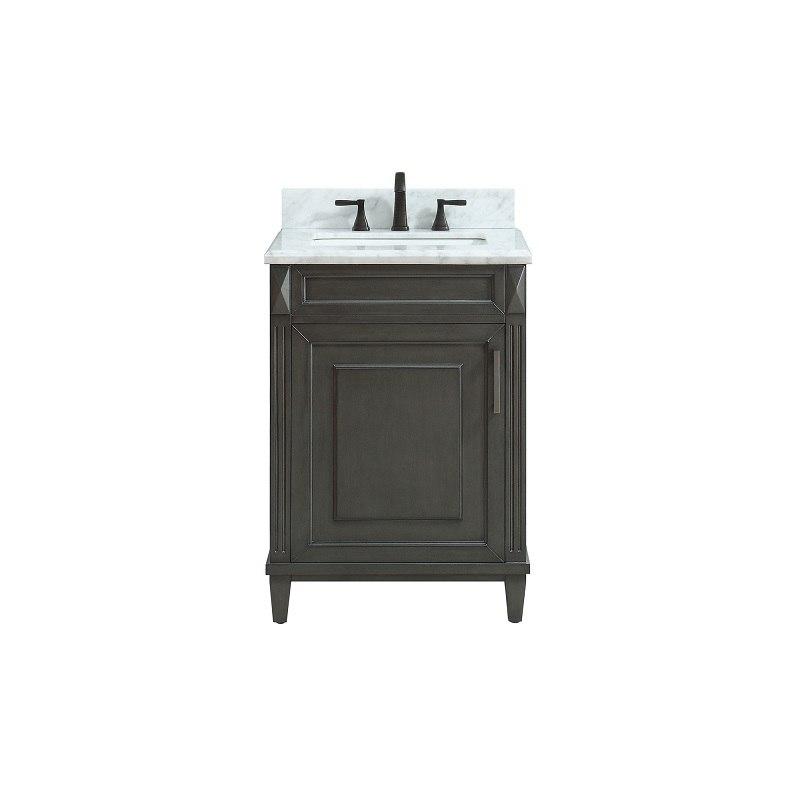 Avanity Sterling Vs24 Cl C Sterling 25 Inch Free Standing Single Bathroom Vanity Set In Charcoal