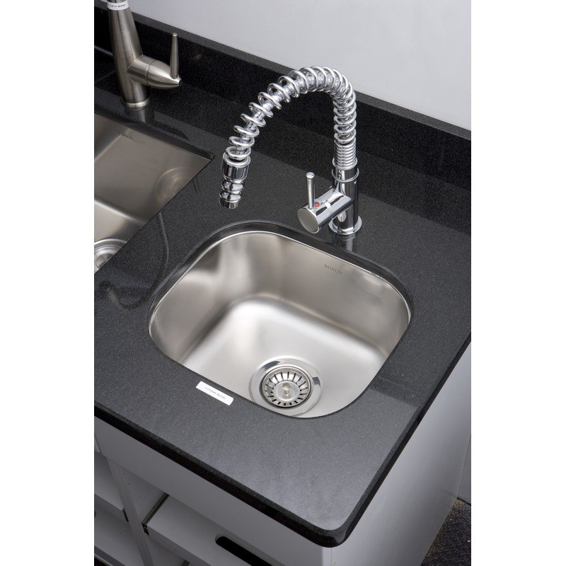 AMERICAN IMAGINATIONS AI-27575 18 GAUGE 15 INCH KITCHEN SINK IN CHROME