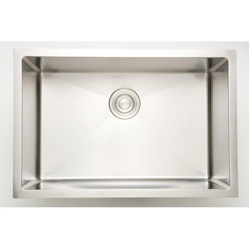 AMERICAN IMAGINATIONS AI-27665 18 GAUGE 27 INCH KITCHEN SINK IN CHROME