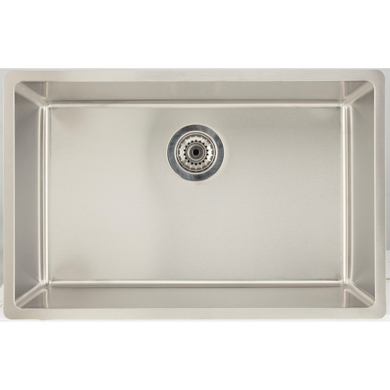 AMERICAN IMAGINATIONS AI-27675 18 GAUGE 27 INCH KITCHEN SINK IN CHROME