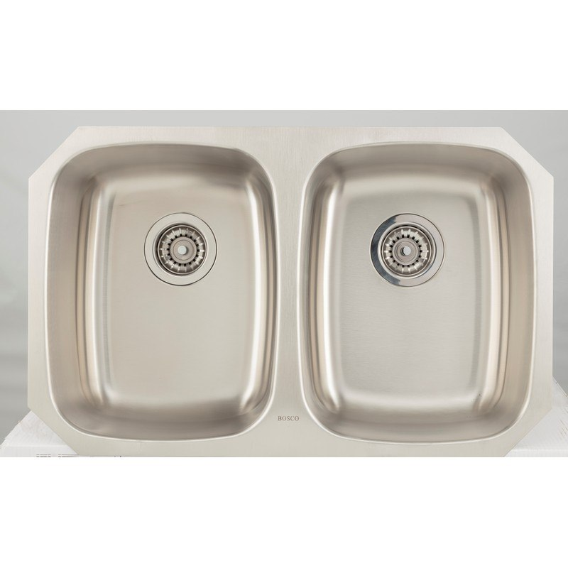 AMERICAN IMAGINATIONS AI-27695 18 GAUGE 32.13 INCH KITCHEN SINK IN CHROME