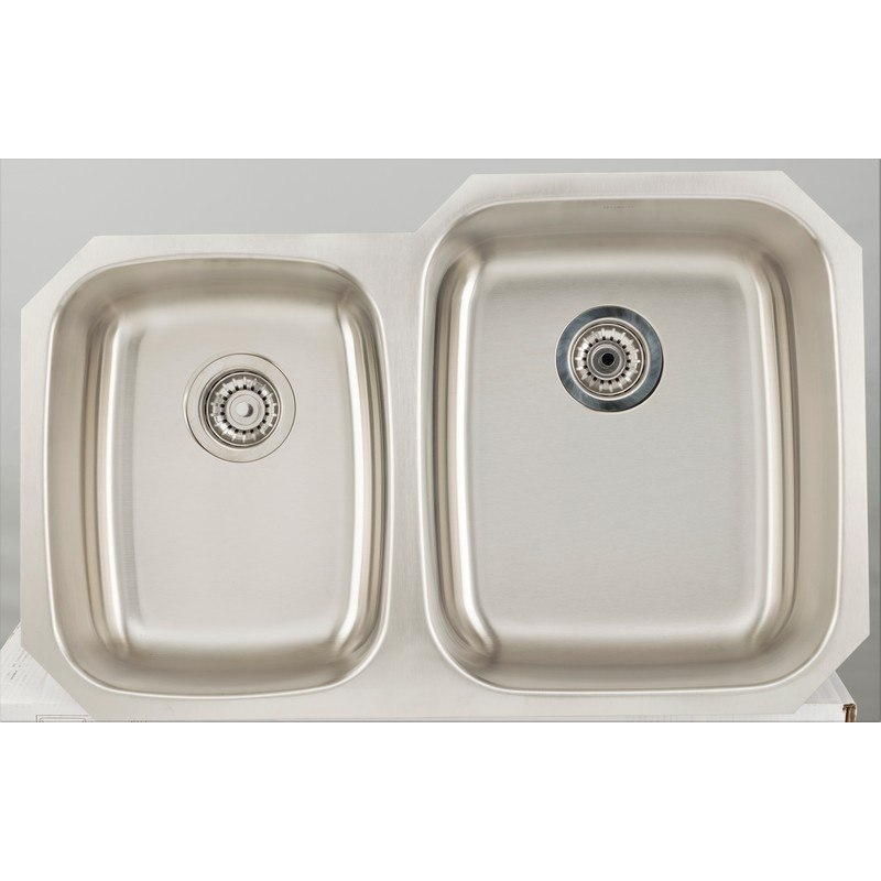 AMERICAN IMAGINATIONS AI-27704 18 GAUGE 32.13 INCH KITCHEN SINK IN CHROME