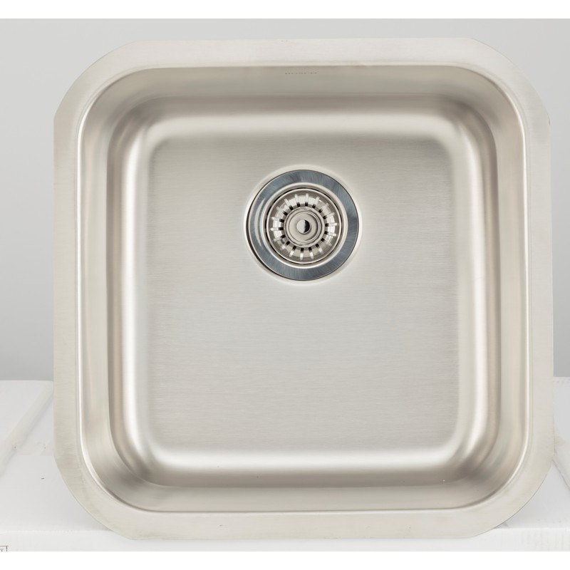 AMERICAN IMAGINATIONS AI-27719 18 GAUGE 17.88 INCH KITCHEN SINK IN CHROME