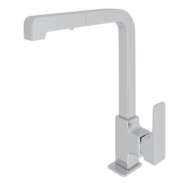 ROHL CU57L-2 MODERN PULL-OUT SIDE LEVER SINGLE HOLE KITCHEN FAUCET