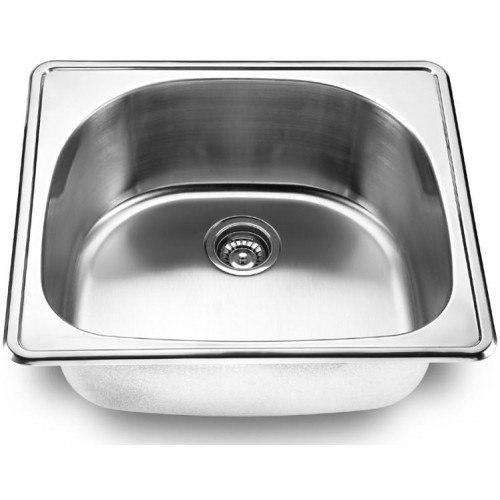 Lada LD2225 Single Bowl 25 Inch D-Shape Topmount Kitchen Sink