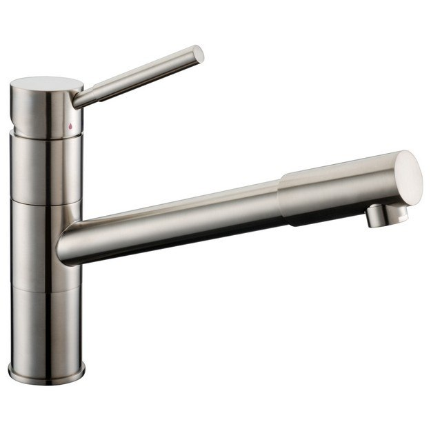 DAWN AB33 3241BN SINGLE-LEVER PULL-OUT KITCHEN FAUCET IN BRUSHED NICKEL