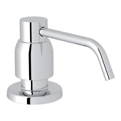Rohl U.6495 Perrin & Rowe Contemporary Deck Mount Soap Dispenser