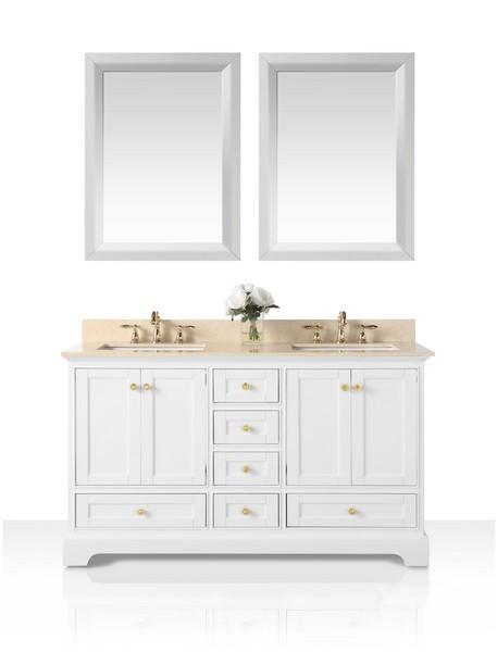 Ancerre Designs Vtsm Audrey 60 W Gb Gd Audrey 60 Inch Bath Vanity