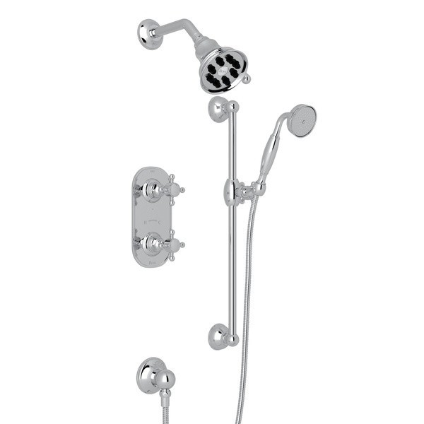 Tuscan Brass Rohl AC407LM-TCB THERMOSTATIC SHOWER