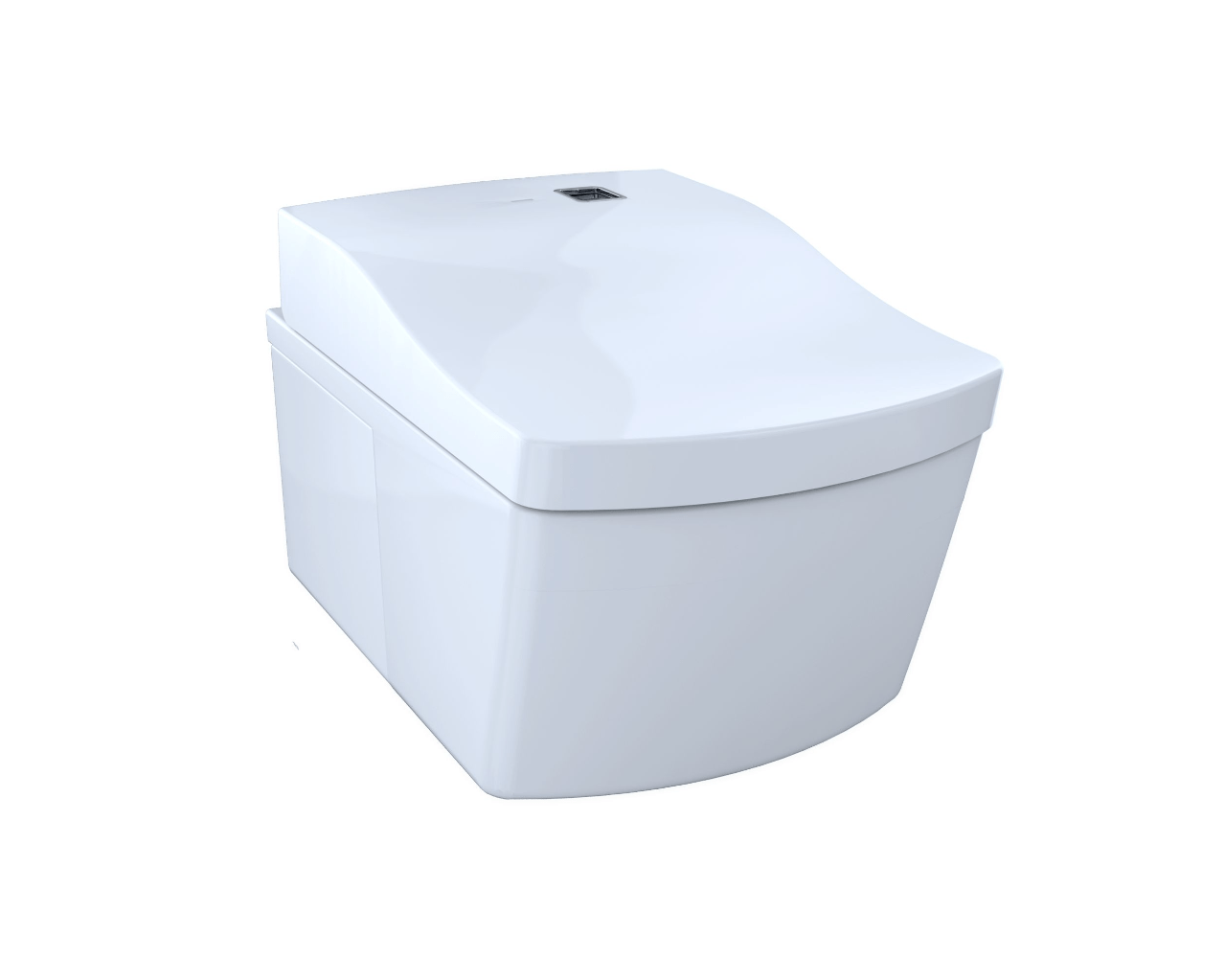 Toto CT994CEFG#01 NEOREST EW Dual Flush 1.28 or 0.9 GPF Wall-Hung ...