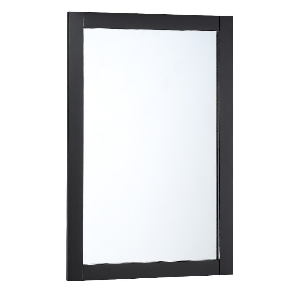 Fresca FMR2304BL Manchester 20 Inch Black Traditional Bathroom Mirror