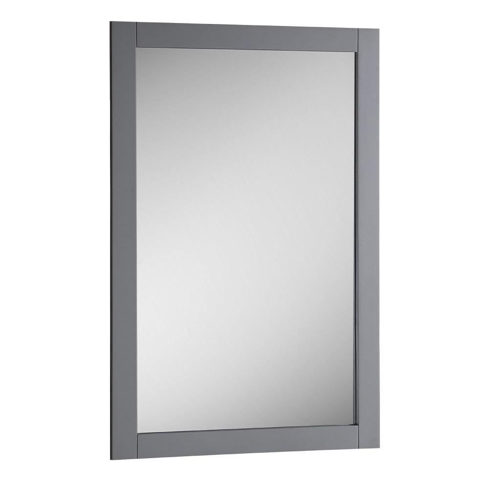 Fresca FMR2304GR Manchester 20 Inch Gray Traditional Bathroom Mirror