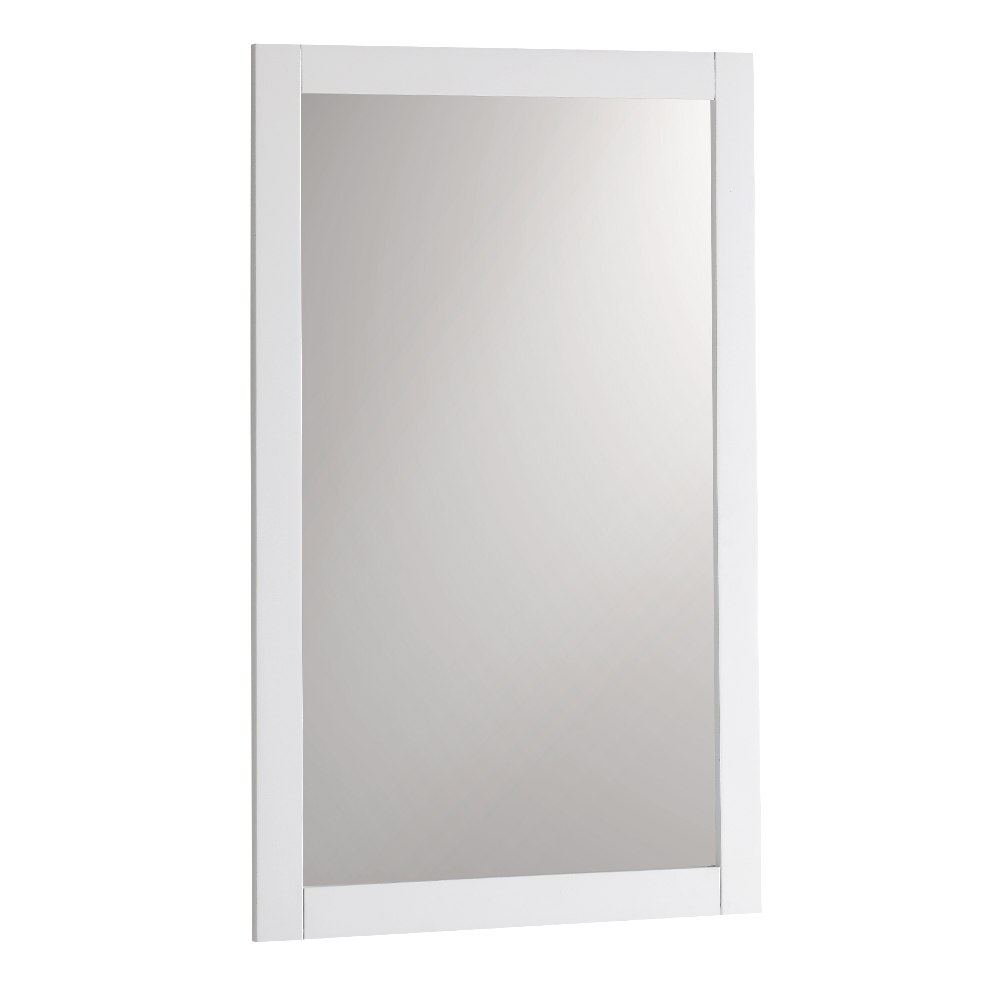 Fresca FMR2304WH Manchester 20 Inch White Traditional Bathroom Mirror