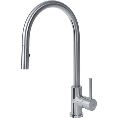 Franke FF3352 Cube Stainless Steel Faucet with Pulldown Spray