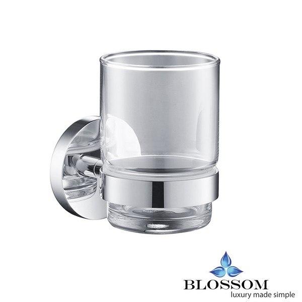 BLOSSOM BA02 503 01 TOOTHBRUSH HOLDER IN CHROME