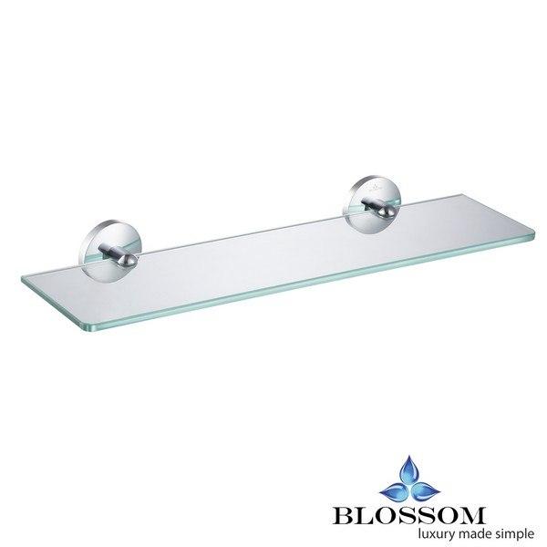 Blossom BA02 507 01 Glass Shelf in Chrome