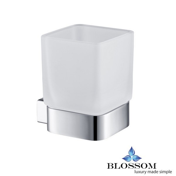 BLOSSOM BA02 603 01 TOOTHBRUSH HOLDER IN CHROME