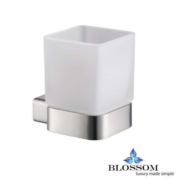 BLOSSOM BA02 603 02 TOOTHBRUSH HOLDER IN BRUSH NICKEL