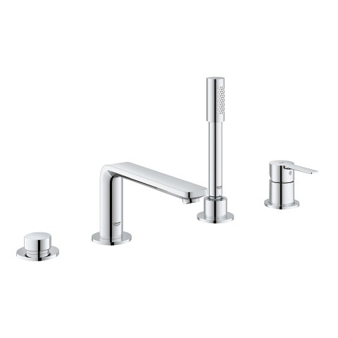 GROHE 19577 LINEARE FOUR-HOLE BATHTUB FAUCET WITH HANDSHOWER