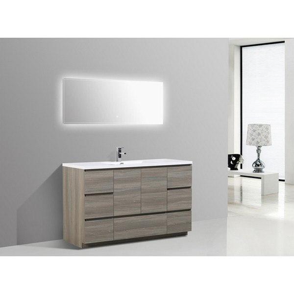 Bath Moa60s Mg 60 Inch Single Sink