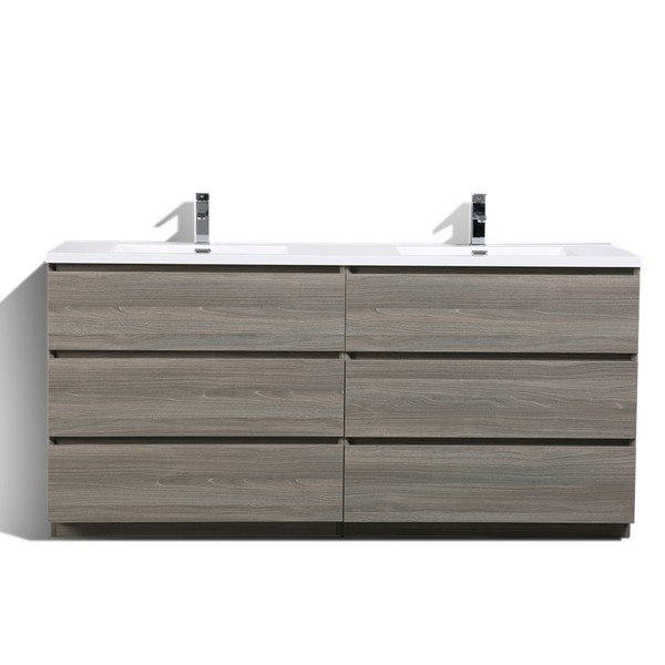 Moreno Bath Moa72d Mg 72 Inch Double Sink Free Standing Modern