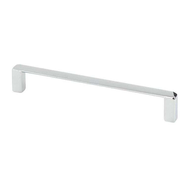 Topex 8-1020012840 Thin Modern Cabinet Pull Bright Chrome Center to Center 5.04 Inches